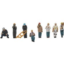 HO Scale Quarry Terminal Workers - 9496018