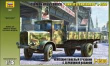 """1:35 Scale German Heavy Truck """"Einheitsfahrerhaus"""" L-4500 - ZV3647"""