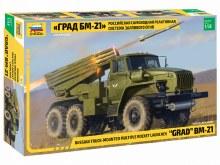 1:35 Scale BM-21 Grad Rocket Launcher - ZV3655