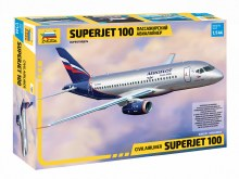 1:144 Scale Civil Airliner Superjet 100 - ZV7009