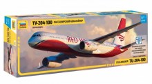 1:144 Scale Civil Airliner TU-204-100 - ZV7023