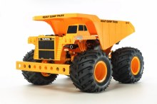 1:24 Scale Heavy Dump Truck 4WD (GF-01 Chassis) Assembly Kit - T58622