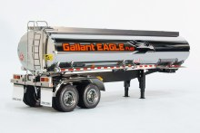 1:14 Scale Tractor Truck Fuel Tanker Trailer Gallant Eagle Kit - T56333