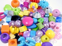 BEADS BAGS ASSORTD 6-20mm