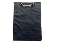 BLACK PVC CLIPBOARD CENTRUM