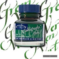 CALLIGRAPHY  INK GREEN 30ML