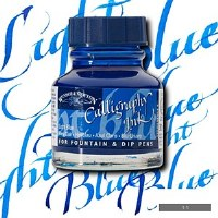 CALLIGRAPHY  INK LT. BLUE 30ML