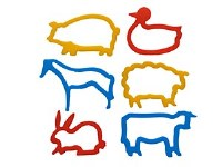 CUTTERS - ANIMALS 6PK