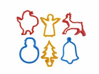 CUTTERS - X MAS SHAPES 6PK