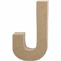 LETTER PAPERMACHE 20.5cm J