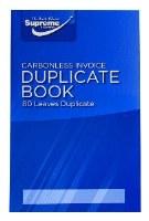 DUPLICATE BOOK INVOICE 8 X 5