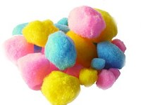 EASTER POMPOMS 15 PACK