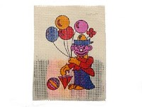 EMBROIDERY CLOWN