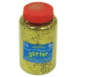 GLITTER SIFTER 400G TUB GOLD