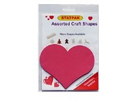 HEARTS PINK CARD 12 PACK