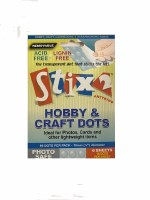 HOBBY & CRAFT DOTS 10mm REMOV
