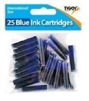 INK CARTRIDGES 25PK BLUE
