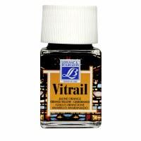 GLASS PAINT VITRAIL ORANGE/YEL