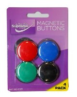 MAGNETIC BUTTONS 4 PACK