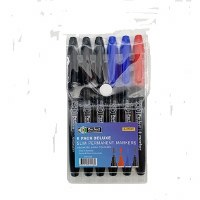 MARKERS PERMANENT 6 PACK