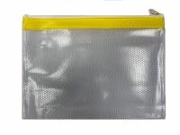MESH BAG A4+ COLOUR STRIP YELL