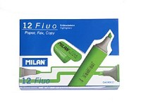 MILAN GREEN H/LIGHTERS BOX 12