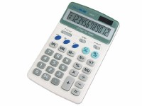 MILAN LARGE WHITE 12DIGIT CALC