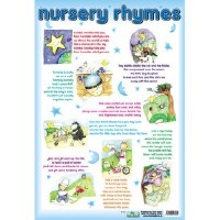 WALL CHART NURSERY RHYMES