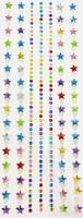 RHINESTONES PEARL STAR STONES