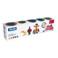 SOFT DOUGH GLITTER 5 PACK