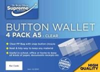 SUPREME A5 CLEAR WALLETS 4PK