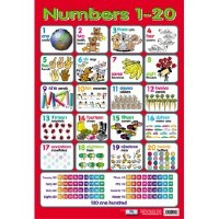 WALL CHART NUMBERS 1-20