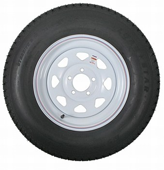 ST205/75D15 5H Spoke Tire/Wheel