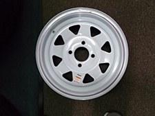 13X4.5 Spk 4H-4.0 Wh Str Wheel