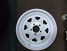 15X5 Spk 5h 4.5 Wh Str Wheel