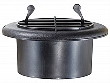 4'' Dampered Vent - Black