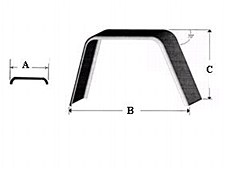 8 X 24 Jeep Style Fenders