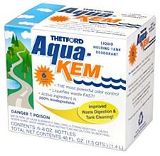Aqua-Kem Holding Tank Chemical 6 8oz Bottles