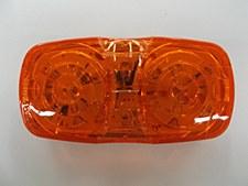Bullseye Amber 16 LEDS