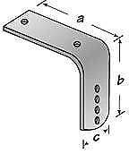Fender Bracket Flush 8-12 2/CD