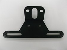License Bracket Plastic