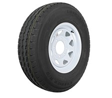 Tire/Wheel 235/80/16 8 Lug White