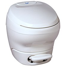 Bravura High Profile White Toilet