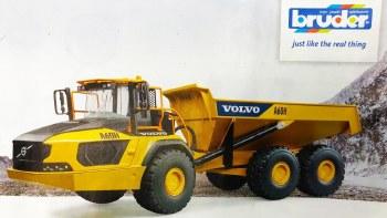 Bruder Volvo A60h Hauler