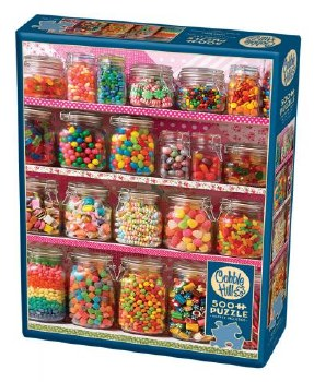 Cobble Hill 500pc Candy Shelf 85011