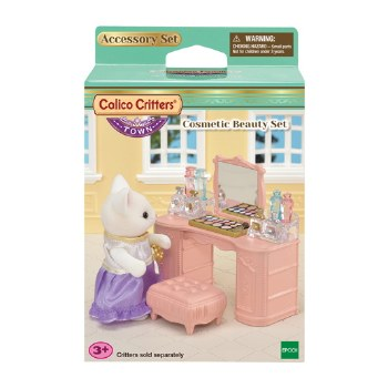 Calico Critters Cosmetic Beauty Set