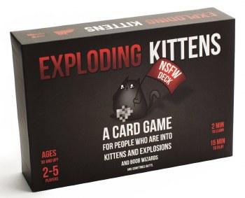 Exploding Kittens Nsfw Deck