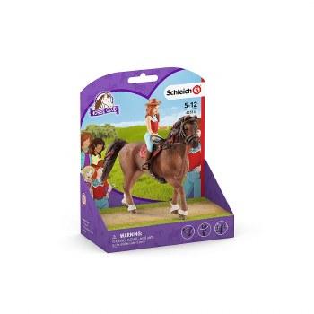 Schleich Horse Club Hannah & Cayenne 42514