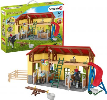Schleich Farm World Horse Stable 42485