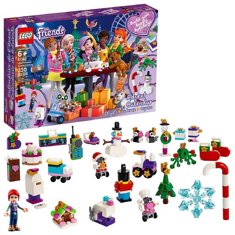 Lego Calendrier.Lego Friends Advent Calendar 2019